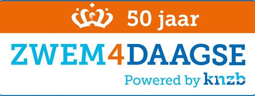 Nieuwe Logo 50 Jaar Zwem4Daagse 845X321