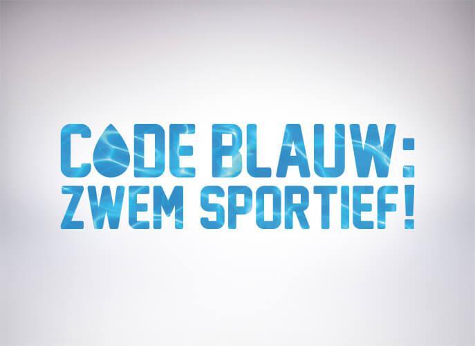 Zwem Sportief Blauw
